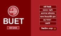BUET Admission Circular 2019-20